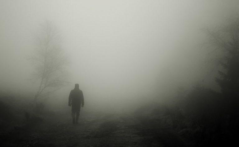 Spacer we mgle po Grodzisku